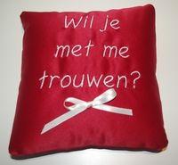 I do! I do! Trouwen, bruiloft, ringenkussentje, huwelijk, trouwen, bruidskinderen.  huwelijksaanzoek. bruidskindermode.nl