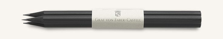 Simple luxury – nothing embodies it more than writing with a beautiful pencil. Faber-Castell is the world's oldest and best-known manufacturer of wood-cased pencils, and over thecenturies has set standards. These include the length and diameter, and the grades of hardness, which remain unchanged to this day.