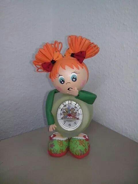 37 Best Relojes Fofuchas Images On Pinterest Clock