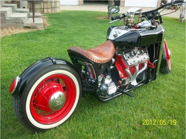 V8 Chevy Trike Autos Post