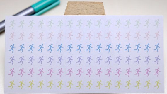 StickersSwissMade@Etsy - small stickers for every planner or bullet journal which is out there! PLANNER STICKER || jogger || sport || small pastel colored | for your planners and bullet journals #PlannerSticker #FilofaxSticker #jogger #sticker #stickers #jogging #outdoor #sport #LifePlannerSticker #running https://www.etsy.com/shop/StickersSwissMade?utm_source=outfy&utm_medium=api&utm_campaign=api