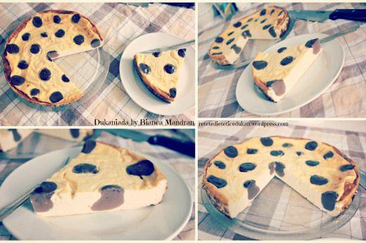 Polka Dots Cheesecake a la Dukan