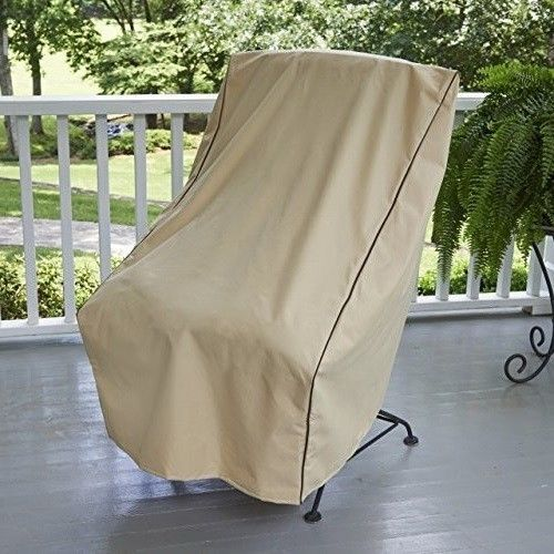 Outdoor Chair Cover Patio Furniture Covers Chairs Protection Water Resistant