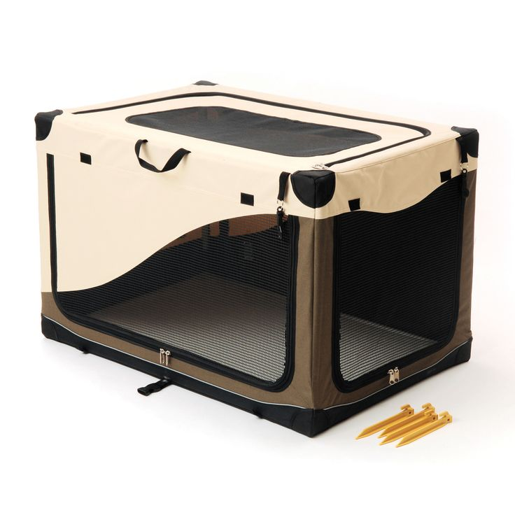 Pet Gear Travel Lite Soft Crate For Cats And Dogs Sahara
