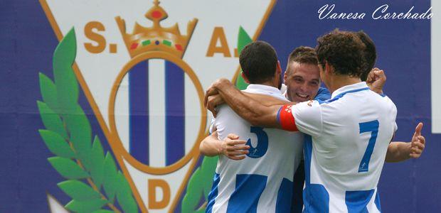 Gol de Eraso (1-0) ante la Peña Sport con resultado final de 3-1. Jornada 6 (2013/14).