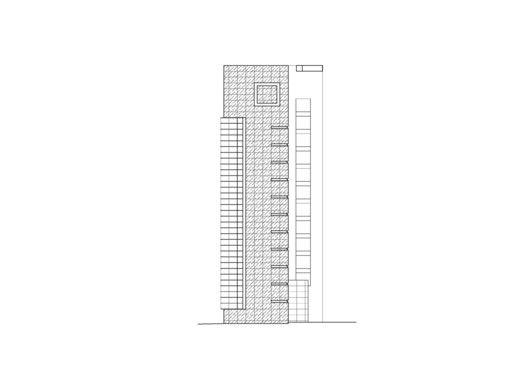 Edificio de Viviendas en Taipei / Chin Architects,Elevación 05