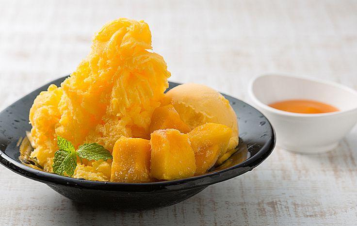 ふわふわの氷や旬の桃・マンゴーを楽しめる夏のデザート新登場