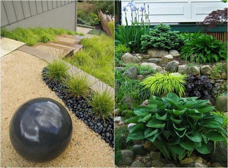 31 best Jardin en pente images on Pinterest   Sloped backyard ...