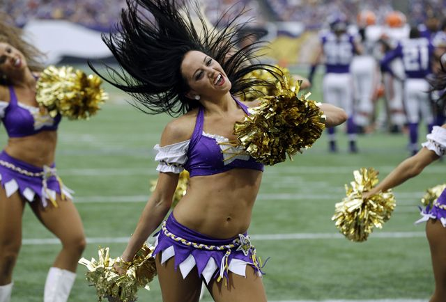 Vikings Cheerleaders