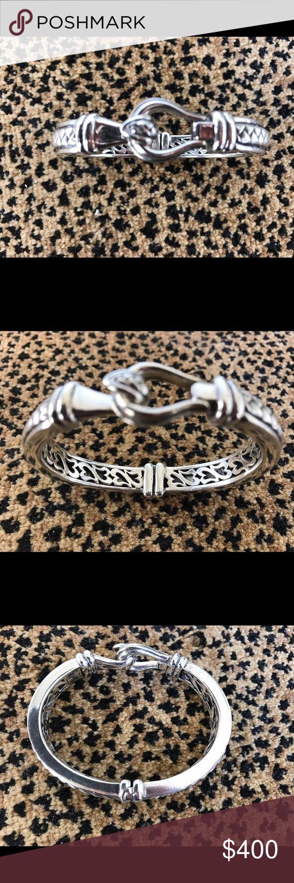 Scott Kay bracelet Scott Kay sterling silver equestrian buckle basketweave bracelet  6.1/4excellent condition scott kay Jewelry Bracelets