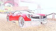 """New artwork for sale! - """" Pagani Huayra Supercar  by PixBreak Art """" - http://ift.tt/2lfmjlw"""