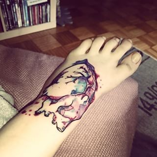 This anatomically correct tattoo that proves you don't need to wear your heart on you sleeves. | 21 Tattoos That Prove Science Is The Most Beautiful Thing Of All