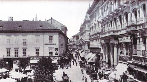 Váci utca, Budapest (1890/1910)