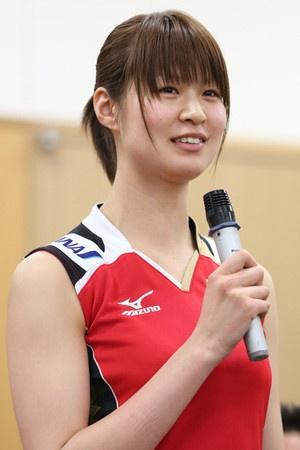 木村沙織が新主将「監督の熱い気持ち感じた」=バレー全日本女子
