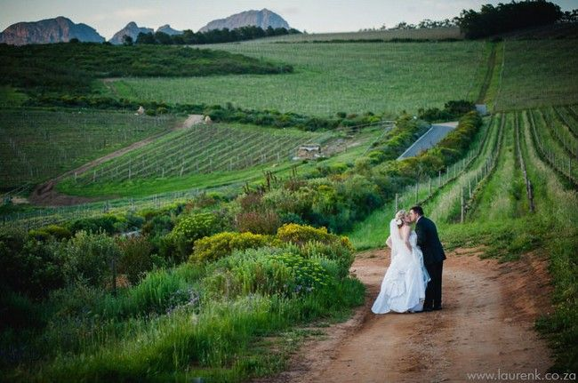 Top 20 Garden & Outdoor Wedding Venues in Cape Town   Confetti Daydreams - #Waterkloof #Wine #Estate offers a spectacular #Winelands wedding location that overlooks False Bay and the Winelands below ♥ #Garden #Outdoor #Wedding #Venues #Cape #Town