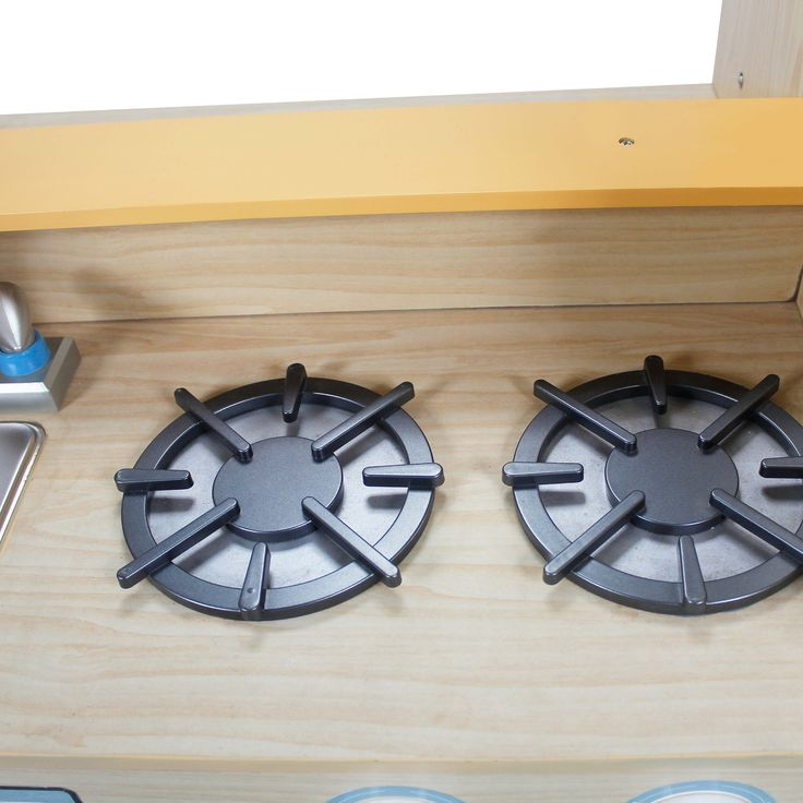 Teamson Kids Play Kitchen with Dual Washers Set