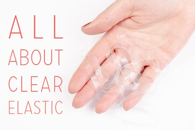 How to stabilize or gather knits using clear elastic #sewing