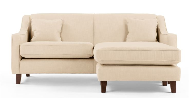 Halston Corner Sofa in cream | made.com