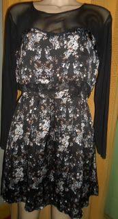 Brecho Online - Belas Roupas: Vestido Estampado