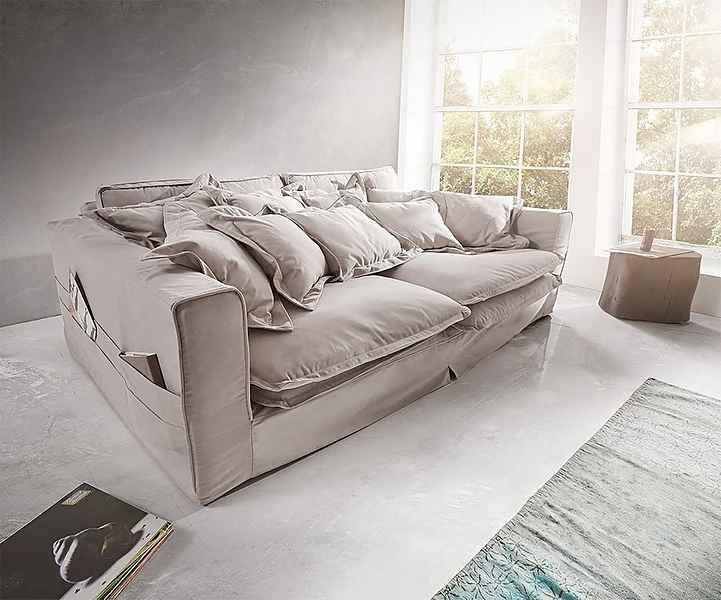 Delife Big Sofa Noelia 240x145 Cm Mit Kissen Hussensofa Design Sofa Online Kaufen Otto Comfy Sofa Living Rooms Couches Living Room Comfy Deep Sofa