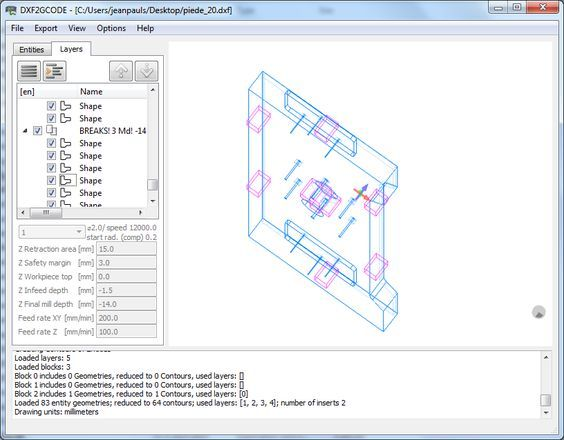 Download dxf2gcode for free  DXF2GCODE: converting 2D dxf drawings