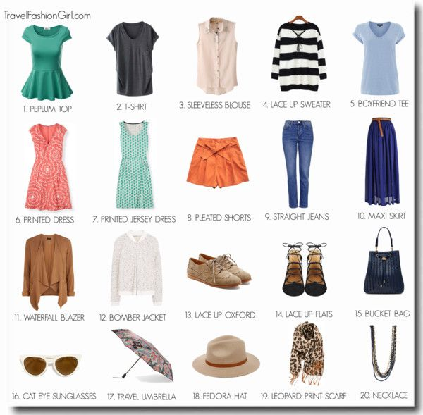 how to pack light for europe summer