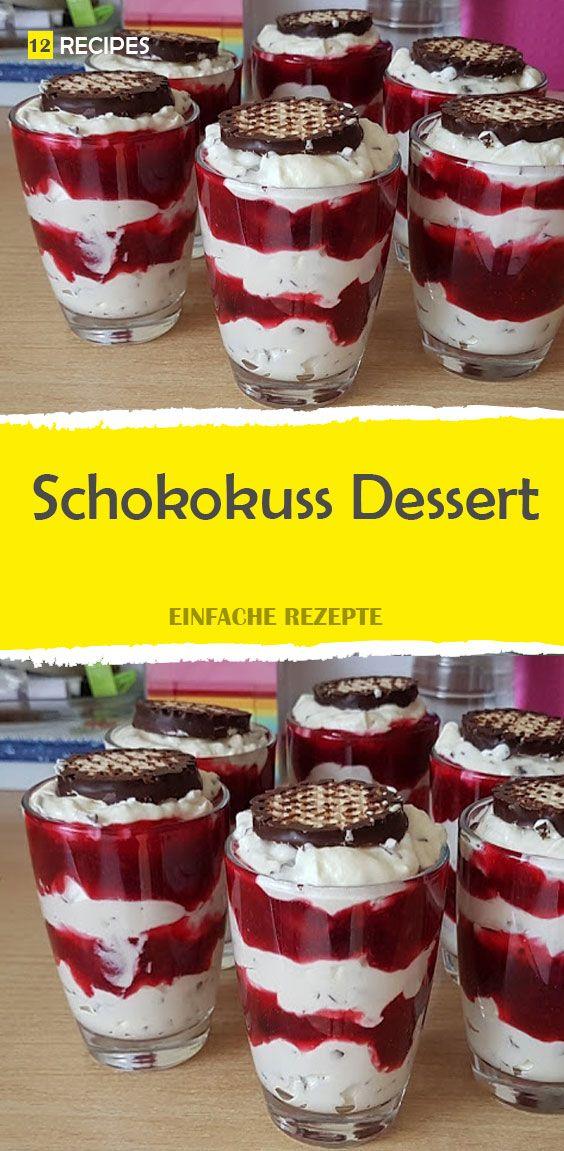 Schokokuss Dessert