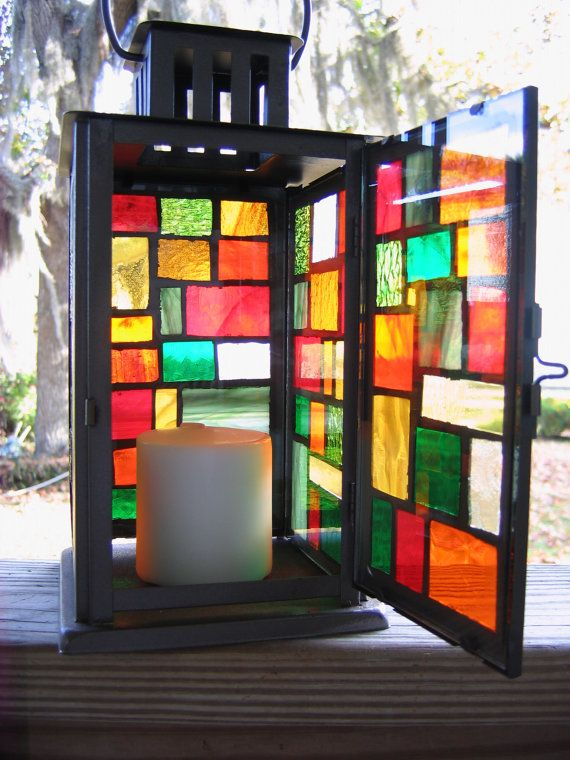 Stained Glass Lanterns