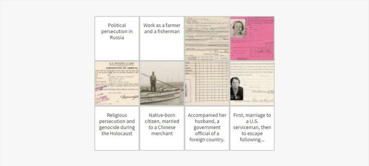 Immigration to America: Stories and Travels