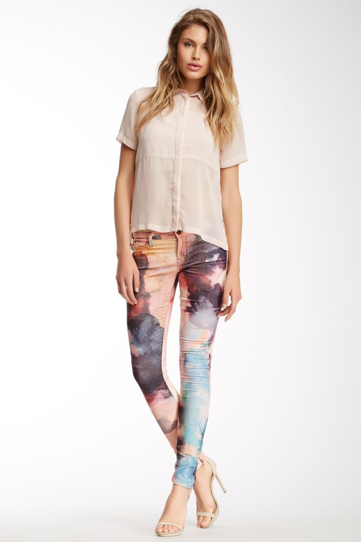 The Looker Skinny Jean MOTHER Jeans