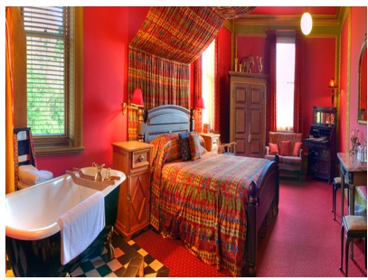 Marvelous Cranberry (Red) Indian Bedroom