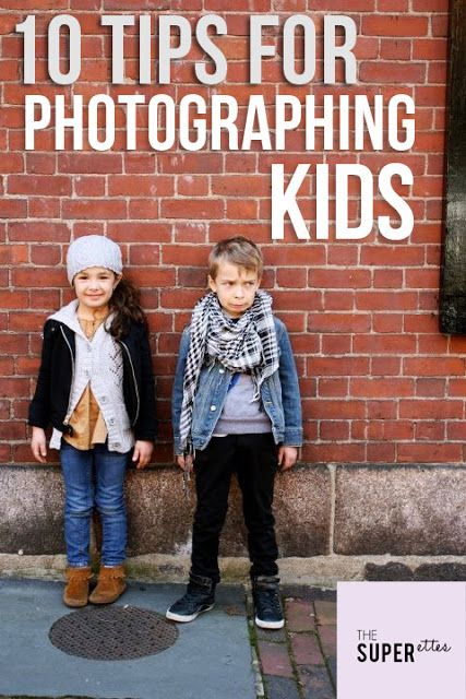 10 Tips for Photographing Kids
