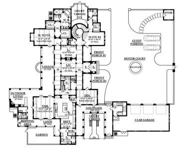 Conservatory House Plans Vertical House Plans ~ Home Plan And ...
