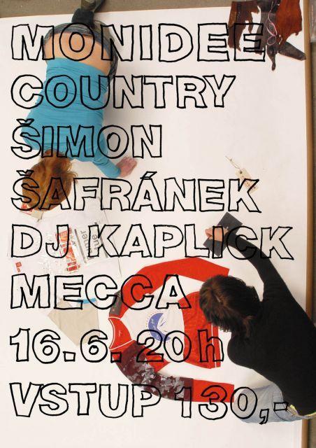 Petr Babák - Monidee country, plakát