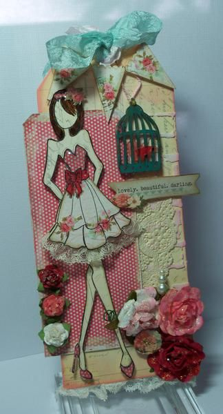 Card: Prima Doll Tag |Pinned from PinTo for iPad|
