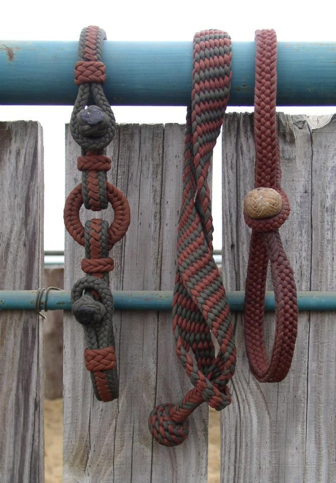 ubraidit.com ~ Paracord Braided Hobbles by Brent Callahan. (www.facebook.com/StockhorseGear)