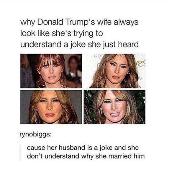 hahaha. AND SHE'S GOTTA' BE DUMB AS A DOOR KNOB.