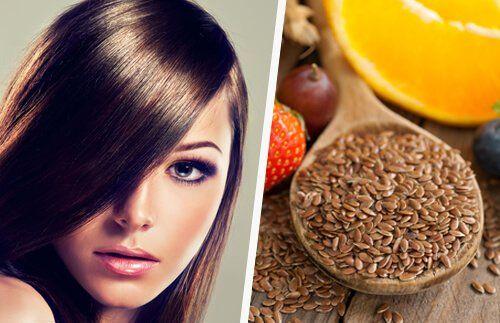 Agua de linaza para fortalecer el pelo - Mejor con Salud