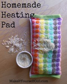 Making a homemade heating pad is one of the easiest and best ways to spend five minutes of your time. You'll wish you'd done it sooner!