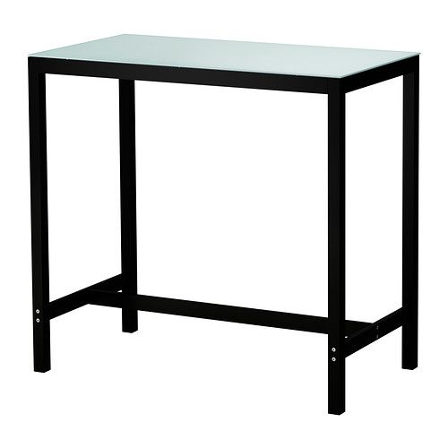 AMMERÖ bar table. $99.00, Ikea. This + two stools on one side + kitchen on the other = instant dining AND cooking space. Bam.