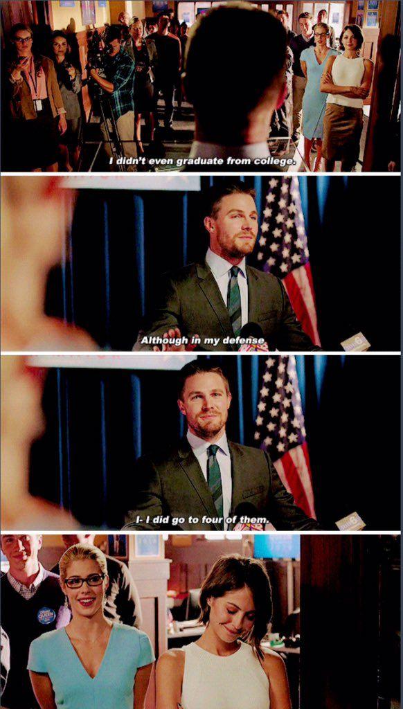 Arrow - Oliver Queen #4.4 #Season4