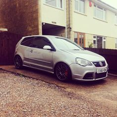 #mulpix And here she is!!   #volkswagon  #polo  #9n3  #german  #gti…