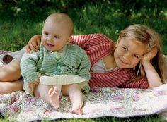 Strik selv: Stribet trøje til baby eller barn - Hendes Verden