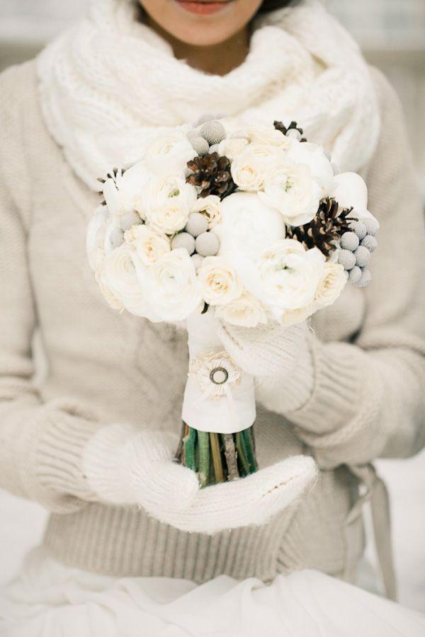 Winter bride. Photo by Anastasiya Belik