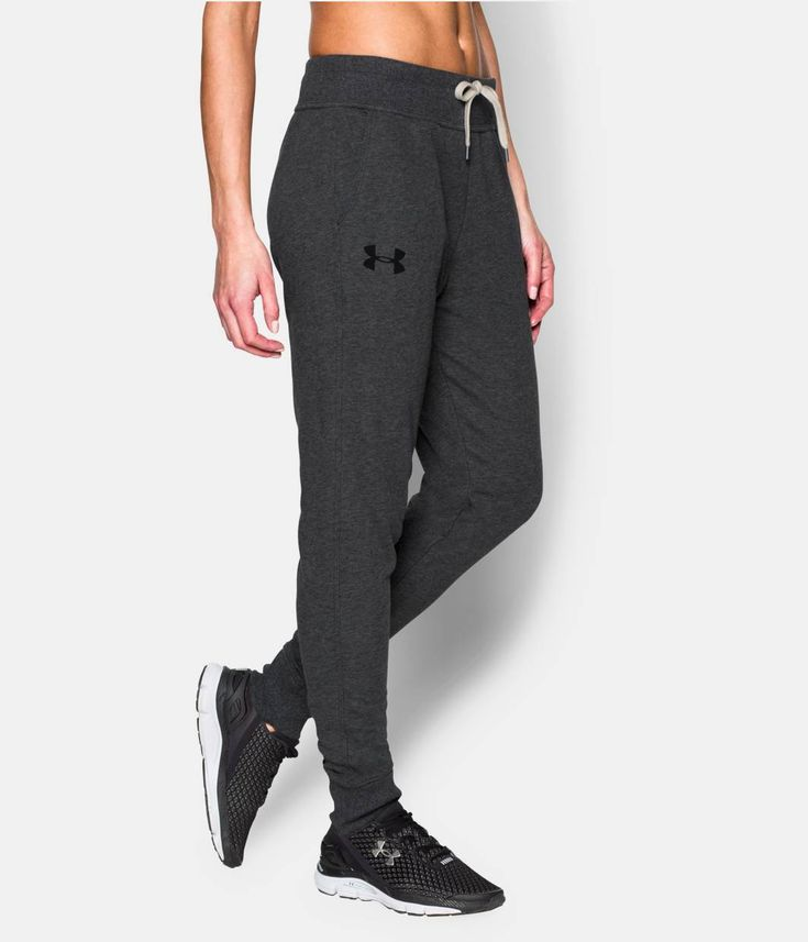 Shop Under Armour for Women's UA Favorite French Terry Jogger Pant in our Womens Bottoms department.  Free shipping is available in US.