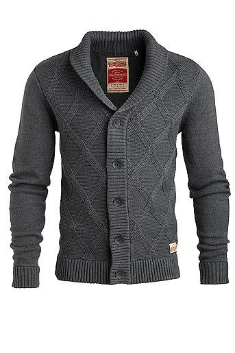 1. Over black tee w/ jeans. 2. Over plaid shirt. 3. Over solid shirt w/ a tie. Nice fall #sweater