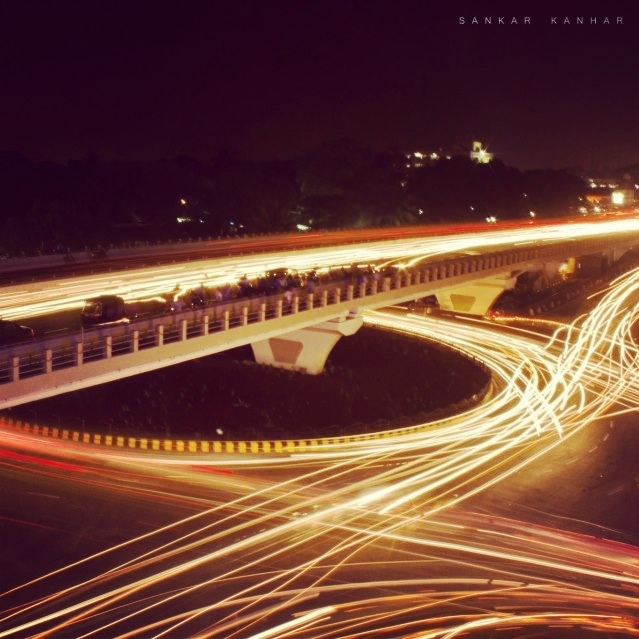 Presenting the Best of 2012: Picture of Rajmahal Flyover.   Credit: Shankar