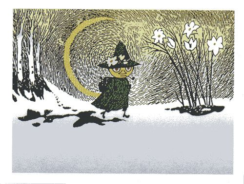 Snufkin coming back to Moominvalley