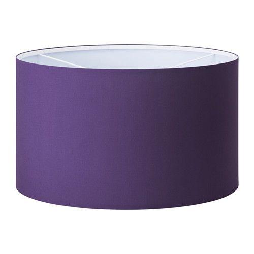 RISMON Abat-jour IKEA L'abat-jour en tissu offre une lumière diffuse et décorative.