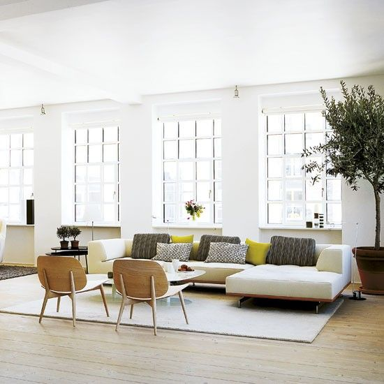 Open-plan living | Take a tour around a cool Danish loft apartment | housetohome.co.uk